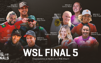 Sub News 1 – WSL To Crown 2021 World Champions At First-Ever Rip Curl WSL Finals